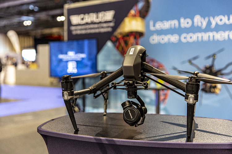 Drone Show 2018 - Inspire 2 on Stand - 750px