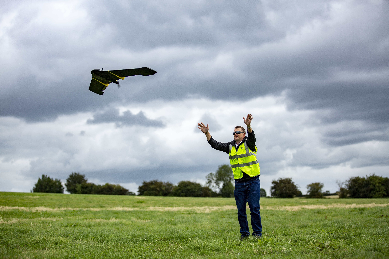 Matthew Hirst - eBee - WS - Taking off