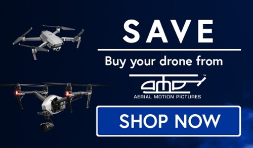 Buy your drone from Aerial Motion Pictures